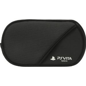 PS Vita Official Licenced Casual Soft Pouch Case Black PlayStation Cushion NoZip