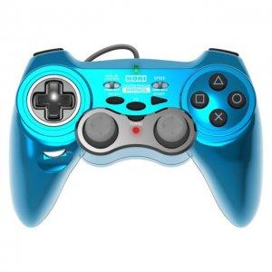 PS3 PlayStation HORI Horipad 3 Pro Controller Pad Light Blue
