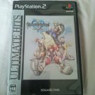 PS2 Kingdom Hearts Ultimate Hits Series JPN Ver PlayStation2 Nice Condition