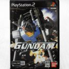 PS2 Game Mobile Suit Gundam Last Shooting DVD JPN Ver Used Nice Condition