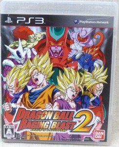 PS3 Dragon Ball Raging Blast 2 JPN VER Used Excellent Condition