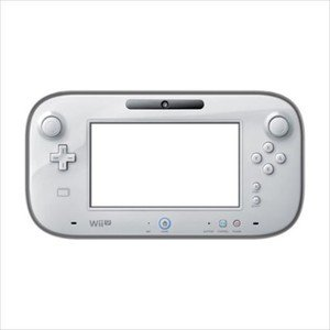 Nintendo Wii U Official Licensed TPU Elastic Hard Cover Jacket Clear Black