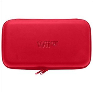 Nintendo Wii U Game Pad Official Licenced Hori EVA Hard Pouch Red
