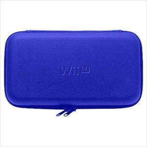 Nintendo Wii U Game Pad Official Licenced Hori EVA Hard Pouch Blue