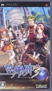 PSP Eiyuu Densetsu Sora no Kiseki the 3rd JPN VER Used Excellent Condition