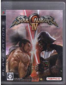 PS3 Soul Calibur IV JPN VER Used Excellent Condition
