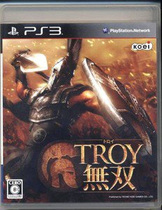 PS3 Troy Musou JPN VER Used Excellent Condition