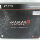 PS3 Ninja Gaiden 3 Collector's Edition JPN VER Used Excellent Condition