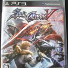 PS3 Soul Calibur V JPN VER Used Excellent Condition