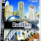 PS3 Railfan JPN VER Used Excellent Condition Chicago CTA JR Keihan