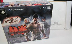 PS3 Tekken 6 Collectors Box JPN VER Used Excellent Condition