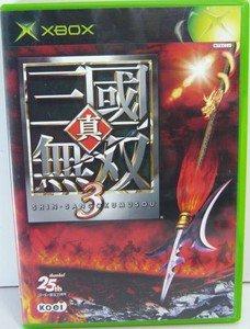 XBOX Shin Sangoku Musou 3 JPN VER Used Excellent Condition