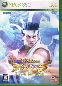 XBOX 360 Virtua Fighter 5 Live Arena JPN VER Used Excellent Condition