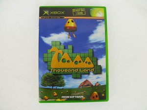 XBOX Thousand Land JPN VER Used Excellent Condition
