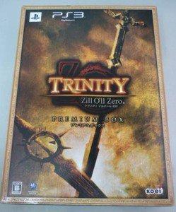 PS3 Trinity Zill O'll Zero LTD BOX JPN VER Used Excellent Condition