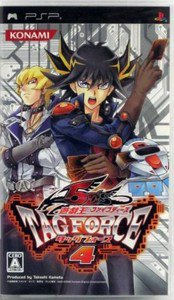 PSP YuGiOh 5Ds Tag Force 4 JPN VER Used Excellent Condition