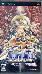 PSP Yggdra Union We'll Never Fight Alone JPN VER Used Excellent Condition