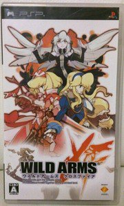 PSP Wild Arms XF JPN VER Used Excellent Condition