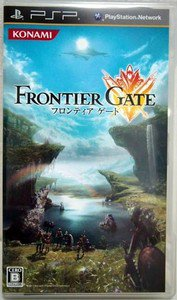 PSP Frontier Gate JPN VER Used Excellent Condition