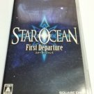 PSP Star Ocean First Departure JPN VER Used Excellent Condition