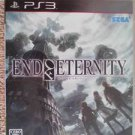PS3 End of Eternity JPN VER Used Excellent Condition
