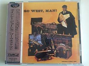 Quincy Jones Go West Man 20bit K2 CD Japan Rare OBI MVCR 20048