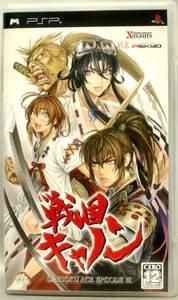 PSP Sengoku Cannon Sengoku Ace Episode 3 JPN VER Used Excellent Condition