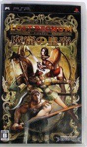 PSP PSP Lost Regnum Makutsu no Koutei JPN VER Used Excellent Condition