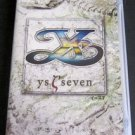 PSP Ys Seven PSP JPN VER Used Excellent Condition