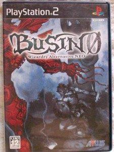 PS2 Busin 0 Wizardry Alternative Neo JPN VER Used Excellent Condition