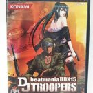 PS2 BeatMania IIDX 15 DJ Troopers JPN VER Used Excellent Condition