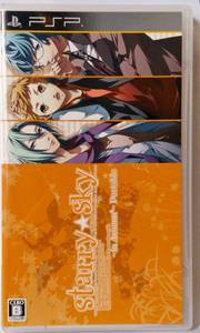 PSP Starry Sky in Autumn PortableJPN VER Used Excellent Condition