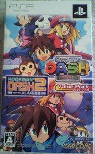 PSP Rockman Dash/Rockman Dash 2 Value Pack JPN VER Used Excellent Condition