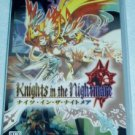 PSP Knights in the Nightmare JPN VER Used Excellent Condition
