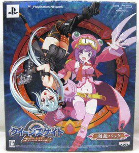 PSP Queen's Blade Spiral Chaos JPN LTD BOX Used Excellent Condition