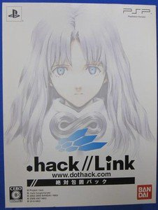 PSP .hack//Link w/Blu ray Pack JPN VER Used Excellent Condition