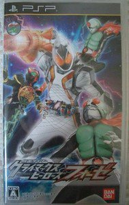 PSP Kamen Rider Climax Heroes Fourze JPN VER Used Excellent Condition