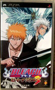 PSP Bleach Heat the Soul 3 JPN VER Used Excellent Condition