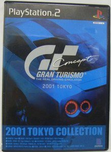 PS2 Gran Turismo Concept 2001 Tokyo JPN VER Used Excellent Condition