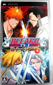 PSP Bleach Heat the Soul 6 JPN VER Used Excellent Condition