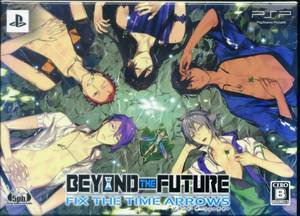 PSP Beyond the Future Fix the Time Arrows JPN VER Used Excellent Condition