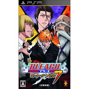 PSP Bleach Heat the Soul 7 JPN VER NEW