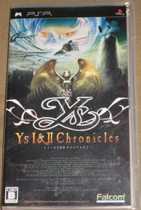 PSP Ys I & II Chronicles JPN VER Used Excellent Condition