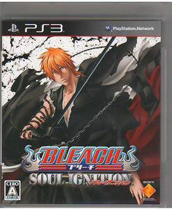 PS3 Bleach Soul Ignition JPN VER Used Excellent Condition