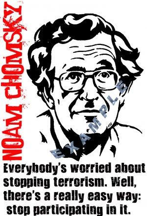 Noam Chomsky shirt