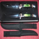 MAXAM 2pc Hunting Knife Set
