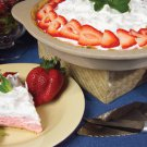 Strawberry Cream No-Bake Cheesecake