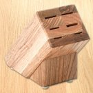 Oak Block (holds 6 items)