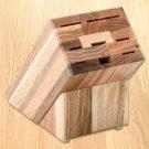 Oak Block (holds 8 items) By Rada Cutlery