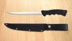 Filet Knife with Leather Scabbard